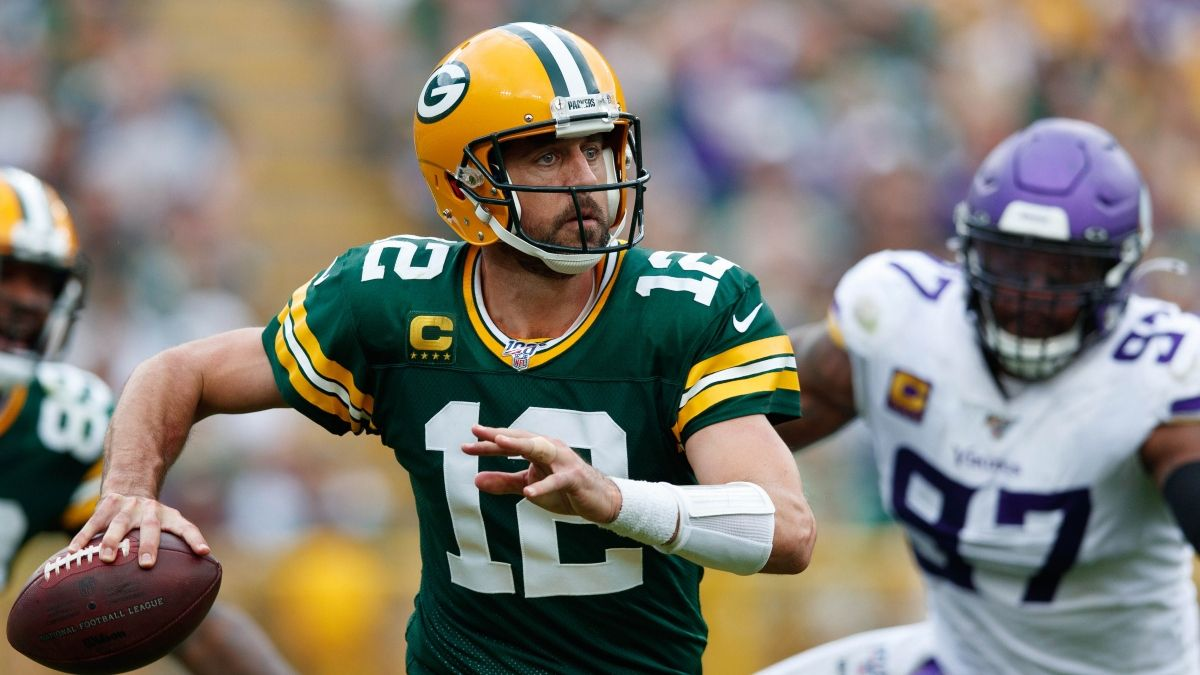 Packers vs. Vikings Betting Cheat Sheet: Odds, Picks & Predictions for Monday Night Football article feature image