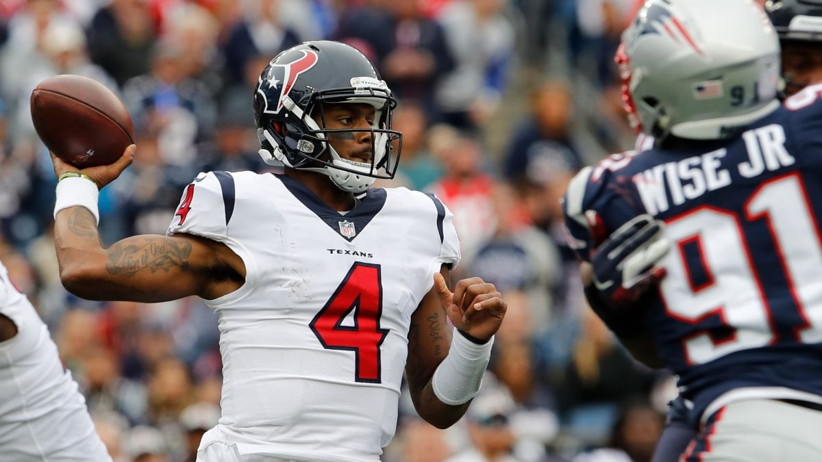 Best Betting Picks for Sunday Night Football: Spread, Over/Under and Prop Bets for Patriots vs. Texans article feature image