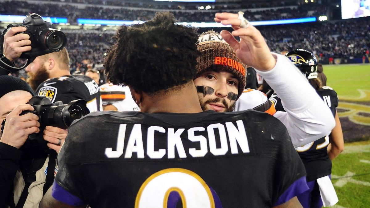 Ravens vs. Browns Betting Picks, Predictions & Odds: Sell High on Baltimore? article feature image