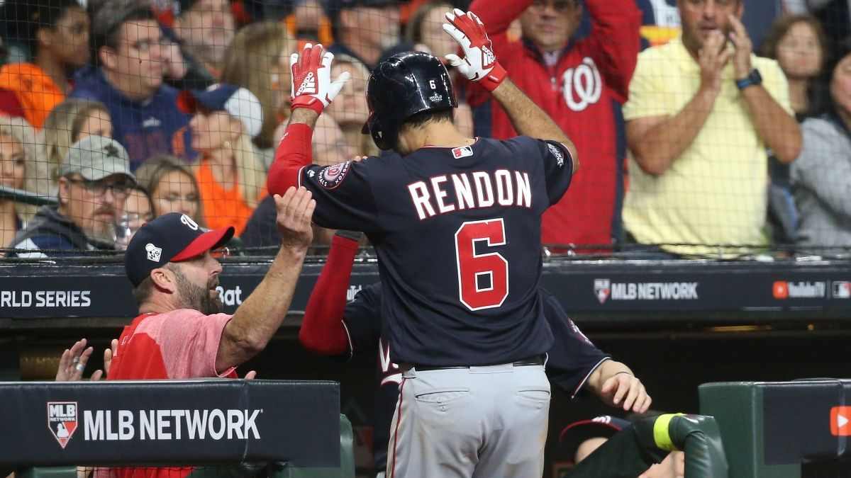 Angels Sign Anthony Rendon: How Their World Series Odds & Win Total Shifted article feature image