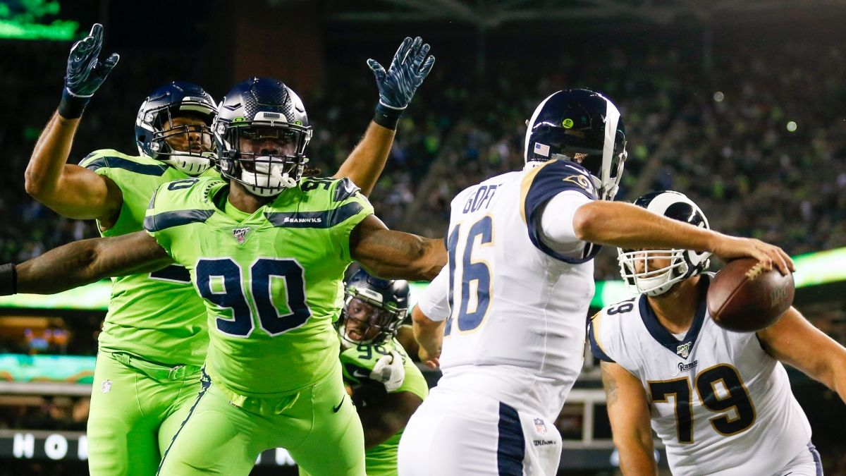 Our Experts' Seahawks vs. Rams Betting Picks: SNF Spread & Prop Bets article feature image