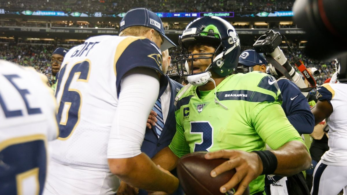 Sunday Night Football Betting Odds, Picks & Predictions: Are the Rams Undervalued Against the Seahawks? article feature image