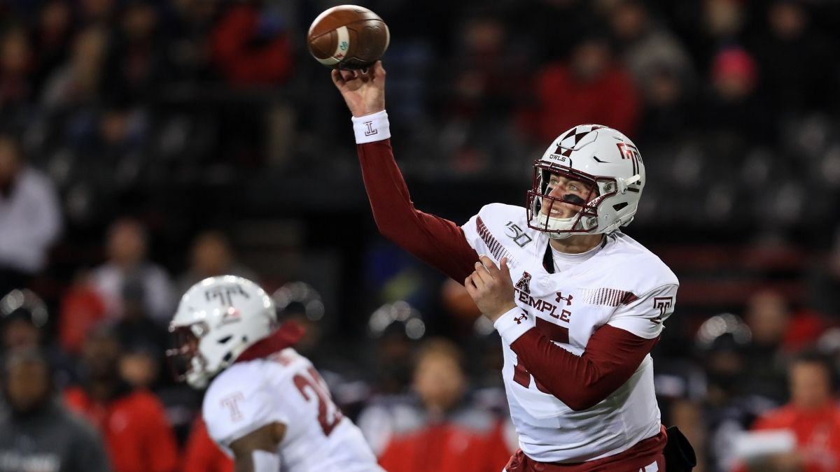 Military Bowl Odds: Temple vs. North Carolina Spread, Over/Under & Our Projections article feature image