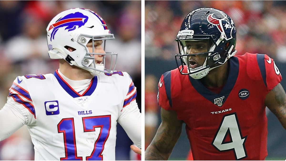 Bills vs. Texans Betting Odds: Spread, Line & Over/Under for This NFL Wild-Card Matchup article feature image