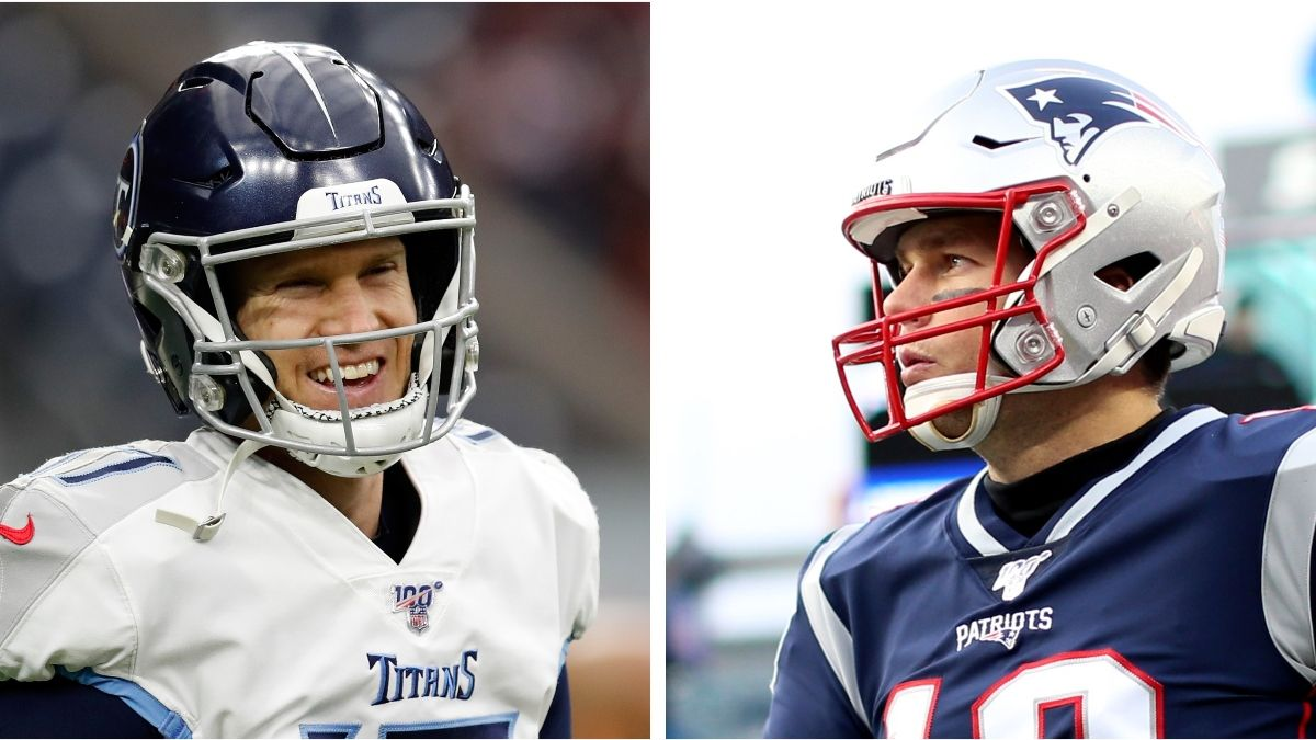 Titans vs. Patriots Betting Odds: Spread, Line & Over/Under for This NFL Wild-Card Matchup article feature image