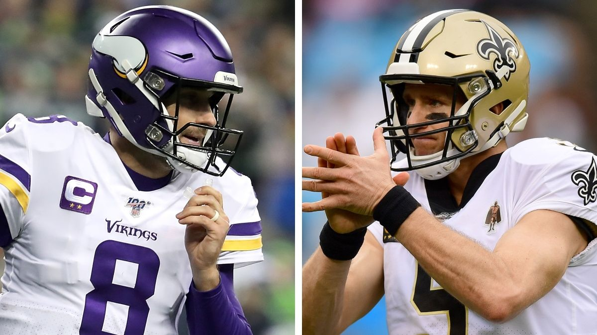 Vikings vs. Saints Betting Odds: Spread, Line & Over/Under for This NFL Wild-Card Matchup article feature image