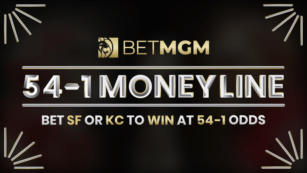 Bet San Francisco or Kansas City to Win at 54-1 Odds at BetMGM in New Jersey article feature image