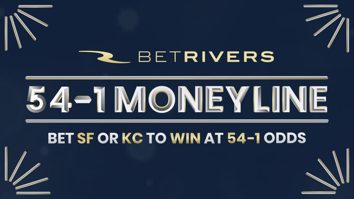 Bet San Francisco or Kansas City to Win at 54-1 Odds at BetRivers in Indiana article feature image