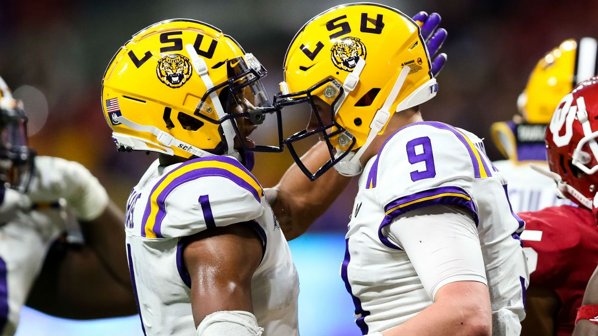 Updated Clemson vs. LSU Odds: Historic Point Spread Support for Joe Burrow's Tigers article feature image