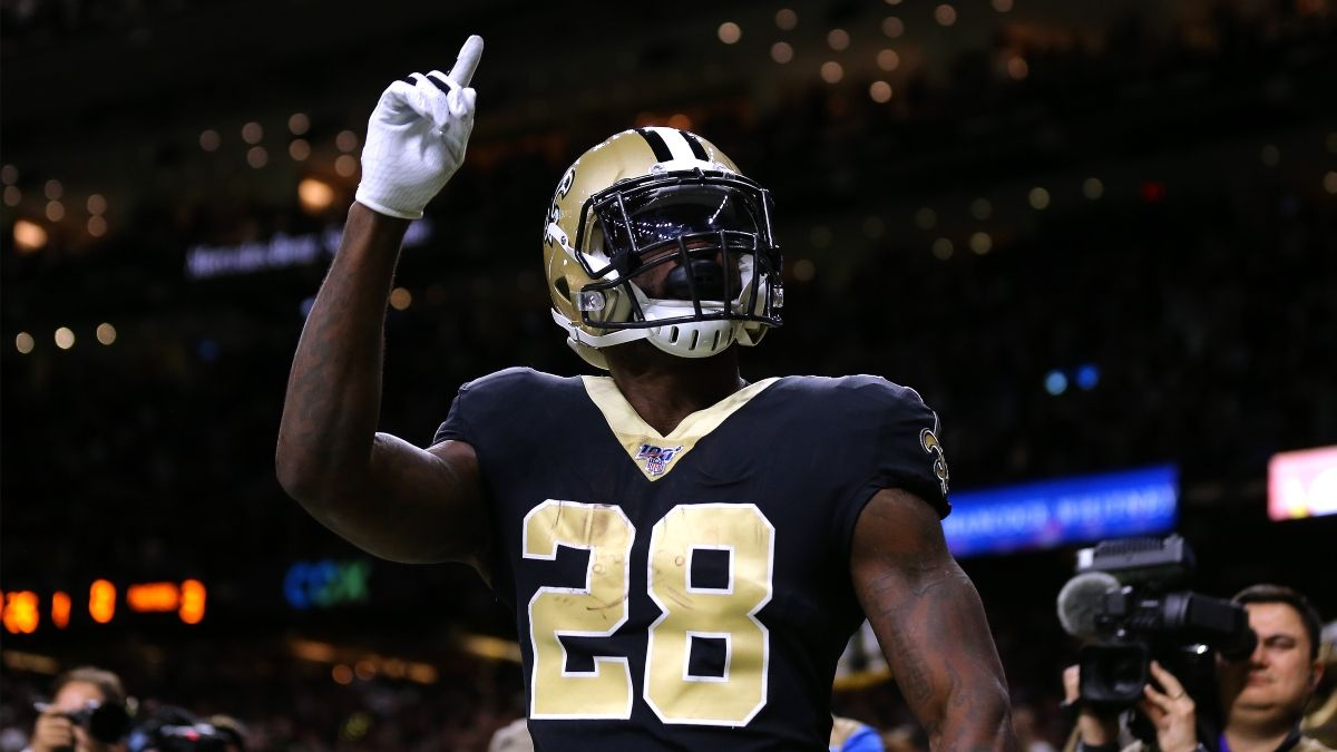 Monday Night Football Prop Bets: Why This Latavius Murray Over Offers Betting Value in Saints-Raiders article feature image