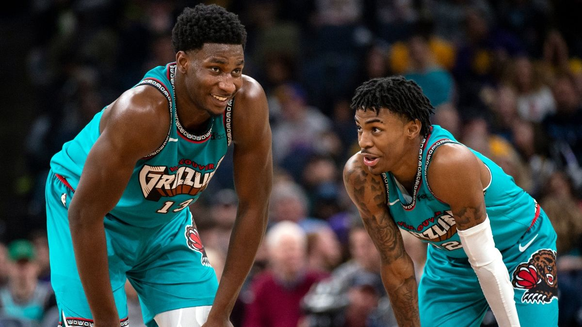 NBA Predictions, Picks & Betting Odds (Tuesday, Jan. 14): The Grizzlies Are Ahead of Schedule article feature image