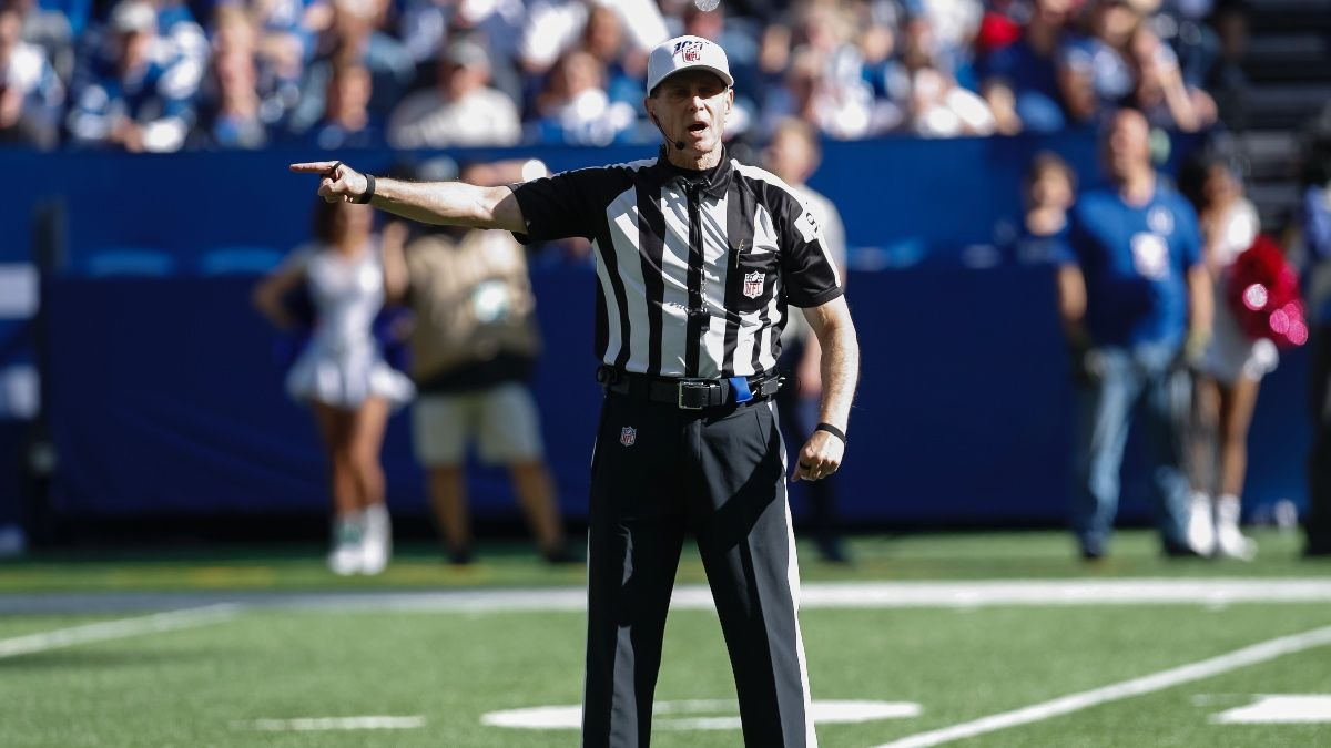 NFL Referee Assignments, Betting Trends for Wild Card Weekend article feature image