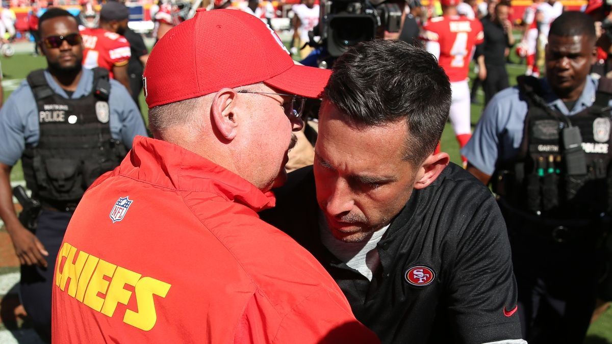 Raybon: Should Bettors Trust Kyle Shanahan or Andy Reid in Super Bowl 54? article feature image