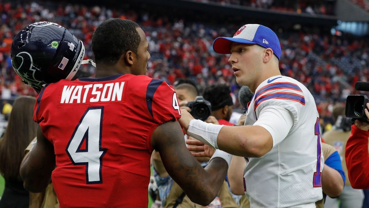 Bills vs. Texans Odds & Pick: How We're Betting Saturday's AFC Wild Card Matchup article feature image