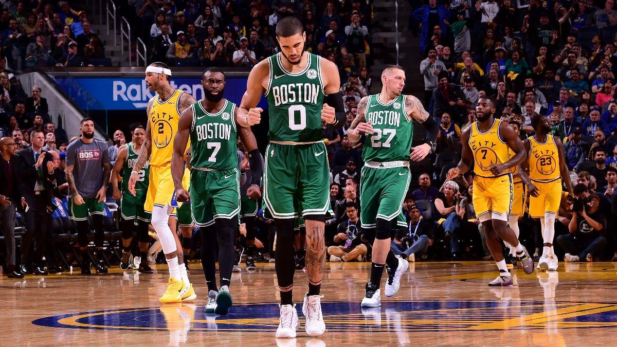 NBA Sharp Betting Picks (Jan. 30): Pros Hitting 76ers vs. Hawks, Warriors vs. Celtics & More article feature image