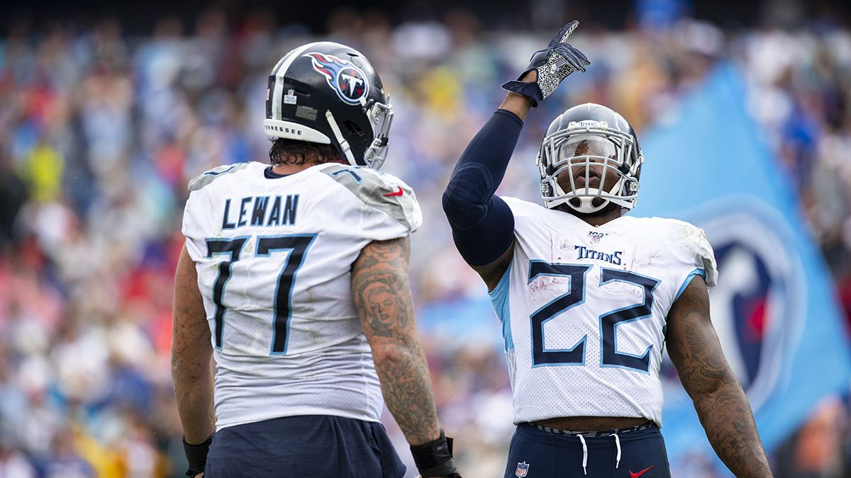 Derrick Henry Touchdown Props vs. Chiefs: Get +100 Odds for Henry to Contribute to a TD article feature image
