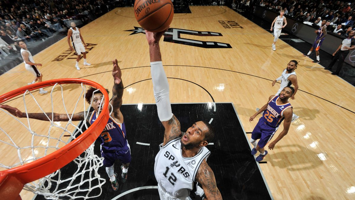 Moore's Friday NBA Betting Picks & Angles: Is This Spurs Resurgence Real? article feature image