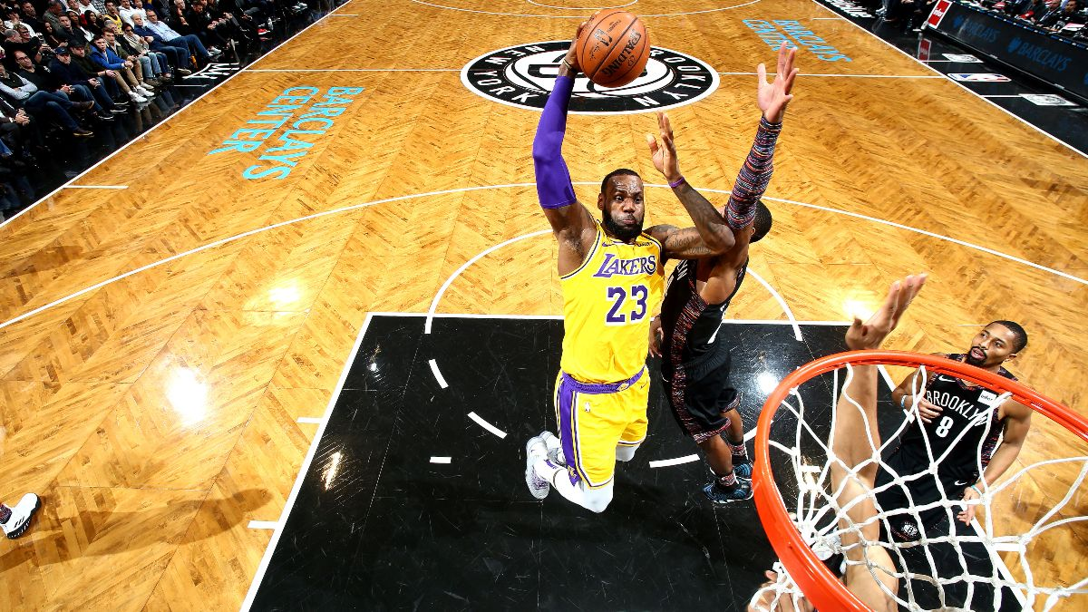 Lakers vs. Nets Betting Picks, Betting Odds & Predictions: Will LeBron James & Co. Roll Through Brooklyn? article feature image