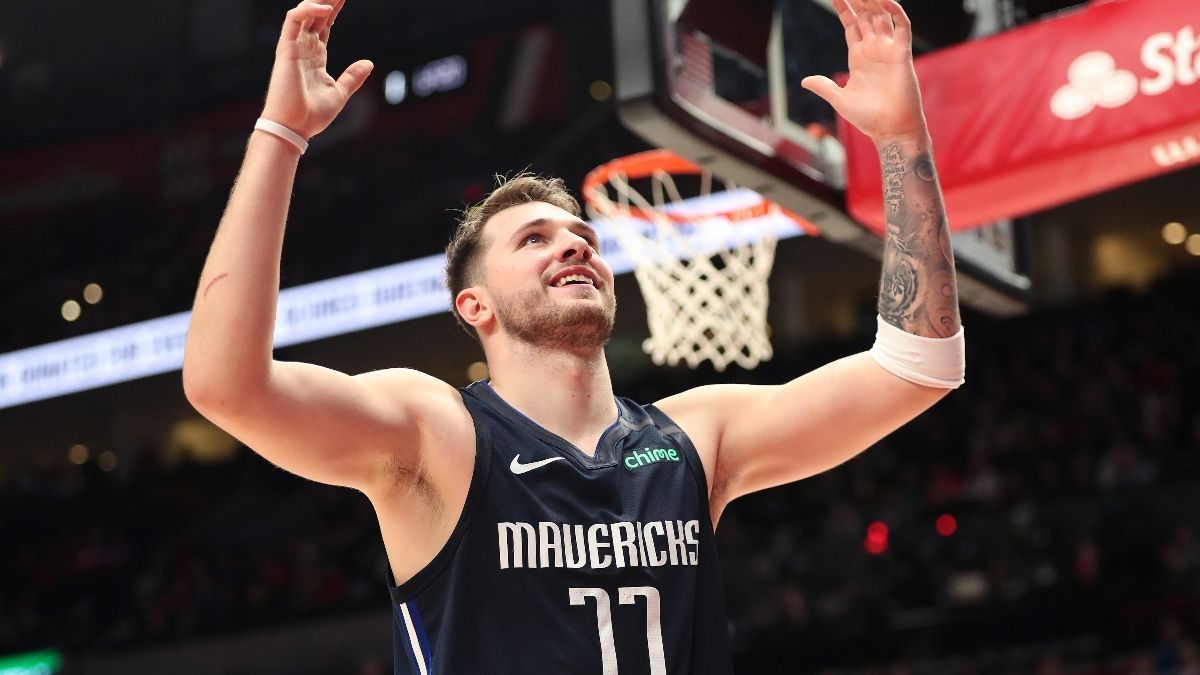 Moore's Saturday NBA Betting Picks & Angles: Can Utah Slow Down Luka Doncic? article feature image
