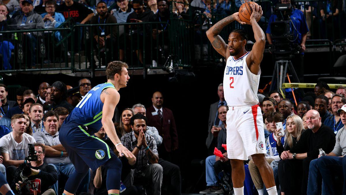 Clippers vs. Mavericks Betting Picks, Betting Odds & Predictions: Will Kawhi Leonard & Co. Lock Down the High-Scoring Mavs? article feature image