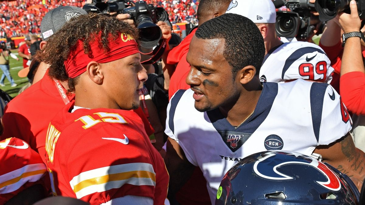 Updated Texans vs. Chiefs Odds: Where To Find the Best Spread & Line for Divisional Round article feature image