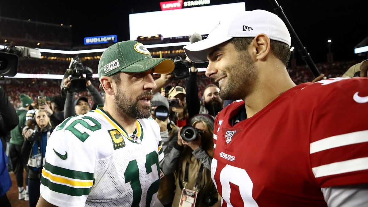 Packers vs. 49ers Odds & Pick: How to Bet the NFC Championship Game Spread article feature image