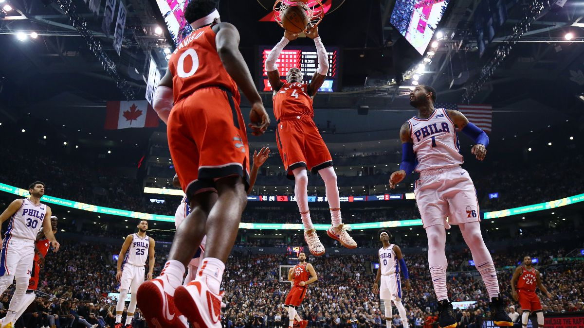 76ers vs. Raptors Betting Picks, Betting Odds & Predictions: Will Toronto Keep Up Its Win Streak? article feature image
