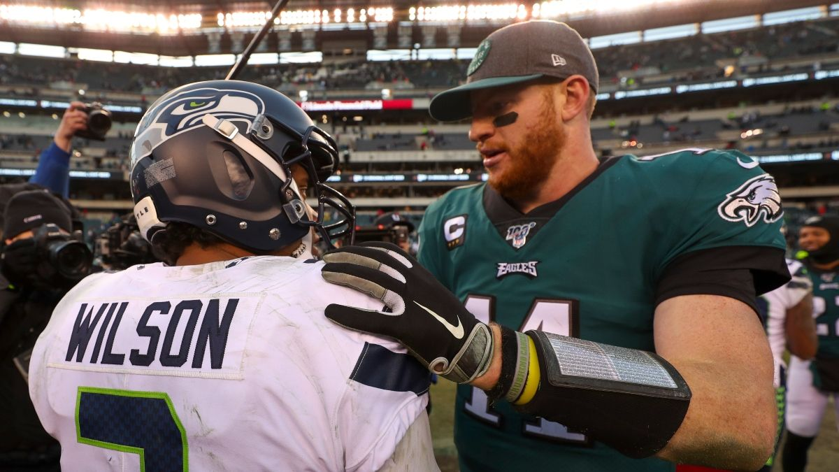 Seahawks vs. Eagles Odds & Picks: How We're Betting This Tight NFC Wild Card Spread article feature image