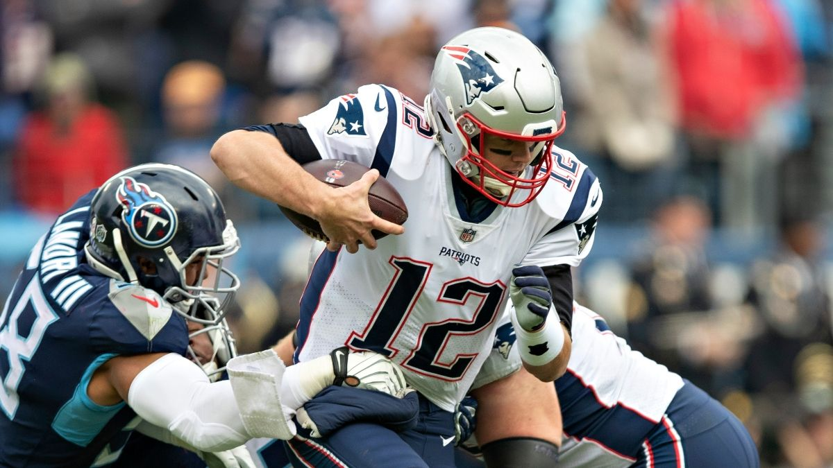 Titans vs. Patriots Odds & Picks: How We're Betting This AFC Wild Card Matchup article feature image