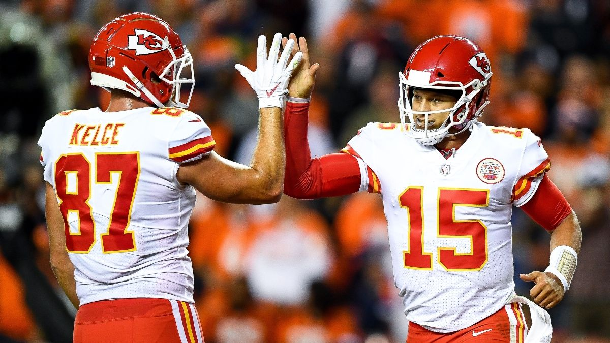 Chiefs-Texans Promotions: Get $100 Free at BetRivers Illinois article feature image
