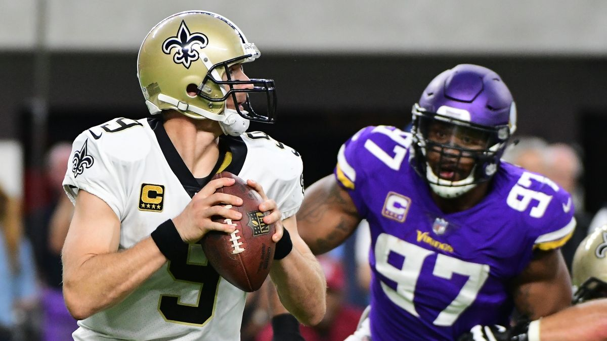 Updated Vikings vs. Saints Betting Odds & Line: Where to Find Best Spread & Over/Under article feature image