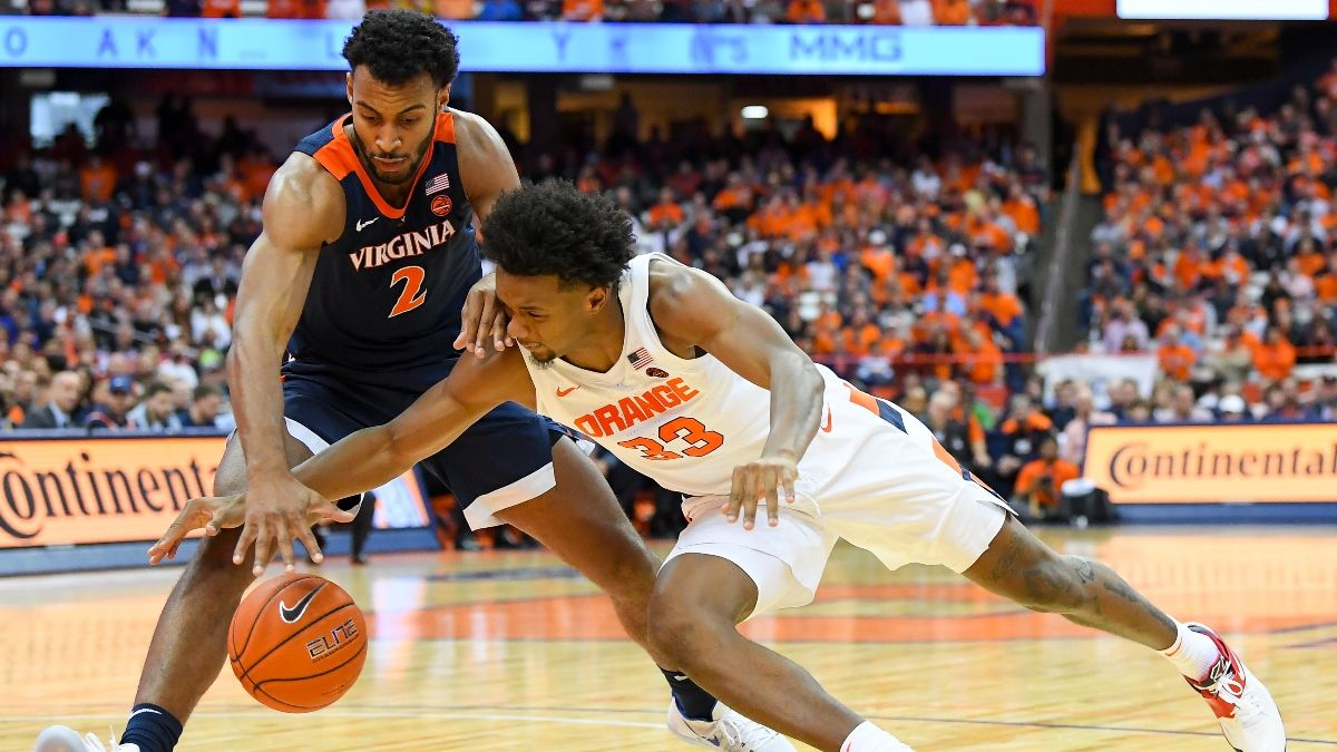 Syracuse vs. Virginia Sharp Betting Pick: Smart Money Moving Point Spread article feature image