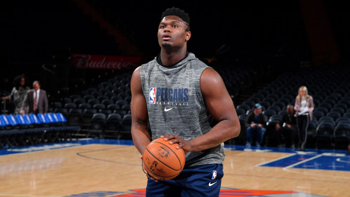 Spurs vs. Pelicans Sharp Betting Pick: Pros Hitting Over/Under in Zion Williamson's NBA Debut article feature image