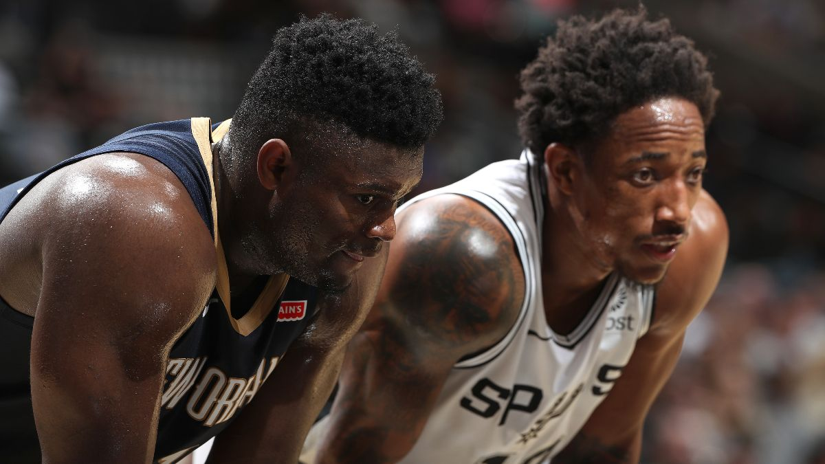Spurs vs. Pelicans Betting Picks, Betting Odds & Predictions: How Zion Williamson Will Impact the Spread, Over/Under article feature image