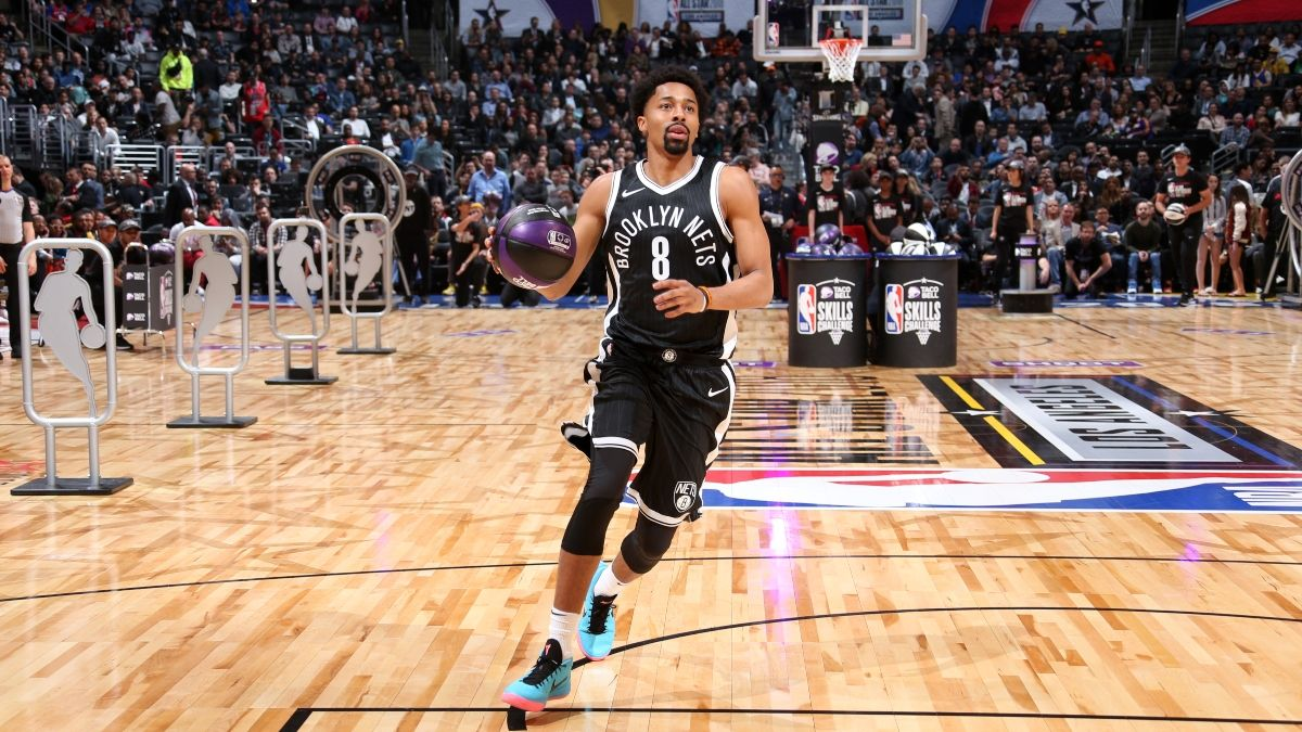 2020 NBA Skills Challenge Betting Odds: Spencer Dinwiddie Favored Over Returning Champ Jayson Tatum article feature image