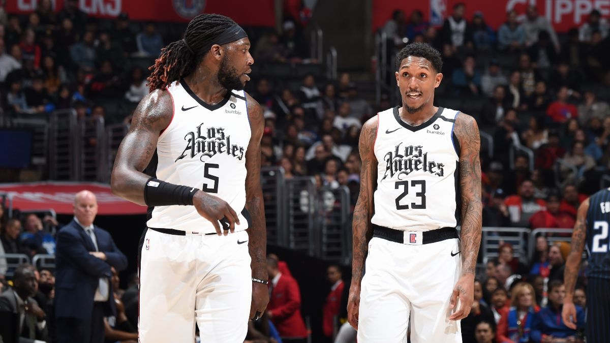 Current 2020 NBA Sixth Man of the Year Betting Odds: Clippers Duo Lou Williams & Montrezl Harrell Lead Market article feature image