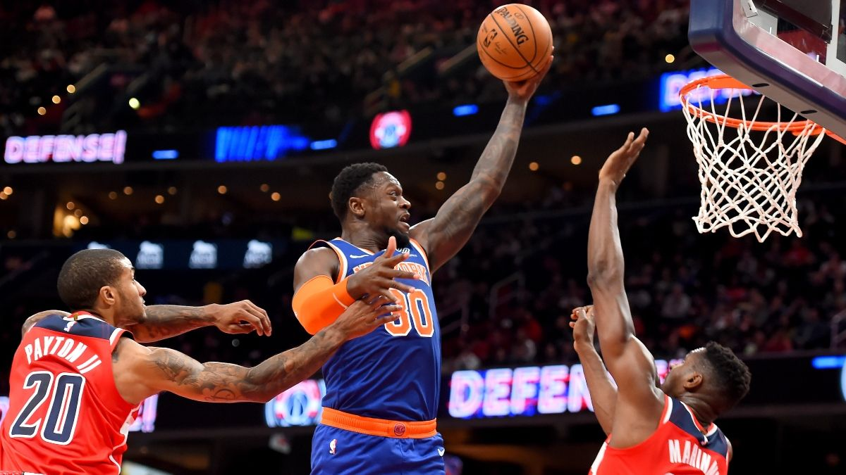 Wizards vs. Knicks Odds, Betting Picks & Predictions: Does a Rested New York Team Have the Advantage? article feature image