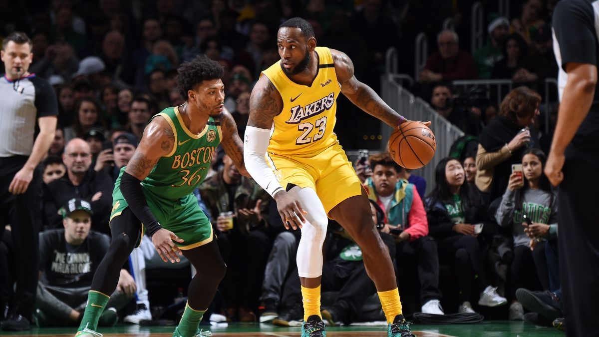 Celtics vs. Lakers Odds, Picks & Betting Predictions: Sharp Money Hitting Over/Under article feature image