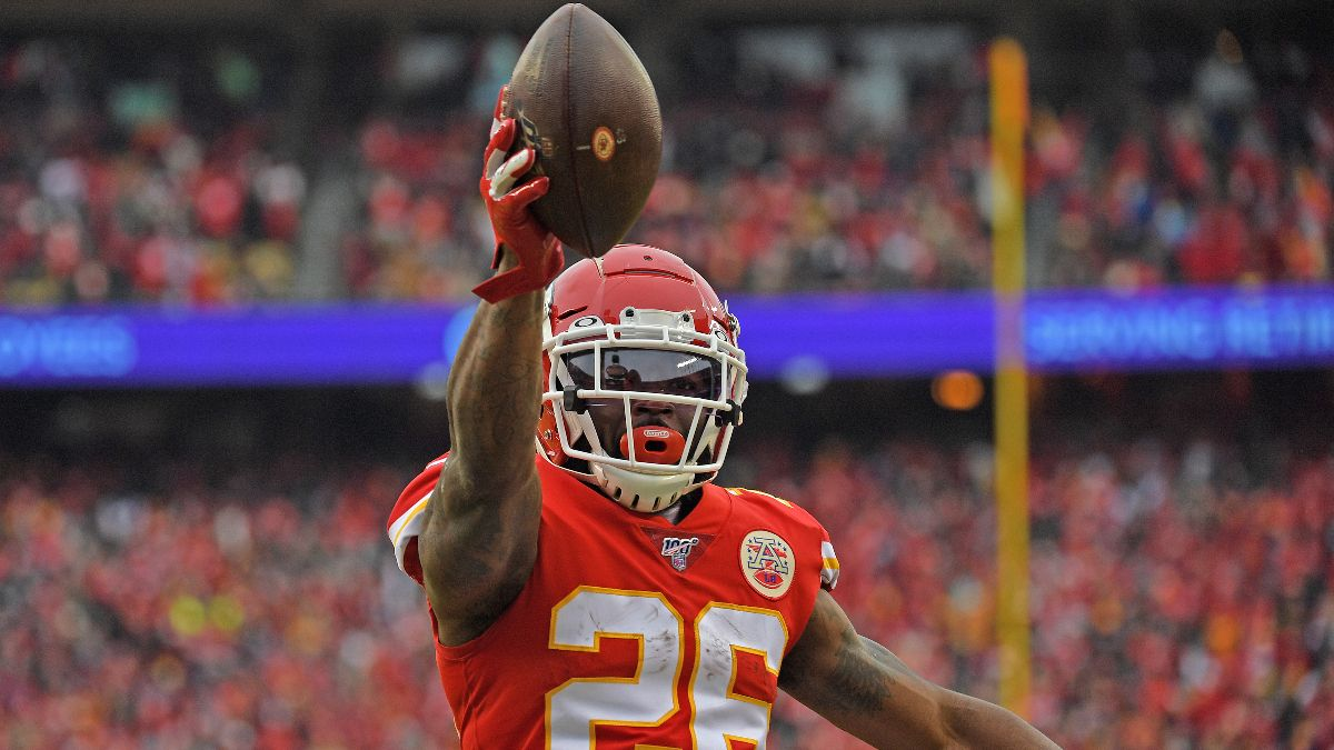 Damien Williams Prop Bets, Odds & Picks for Super Bowl 54 article feature image