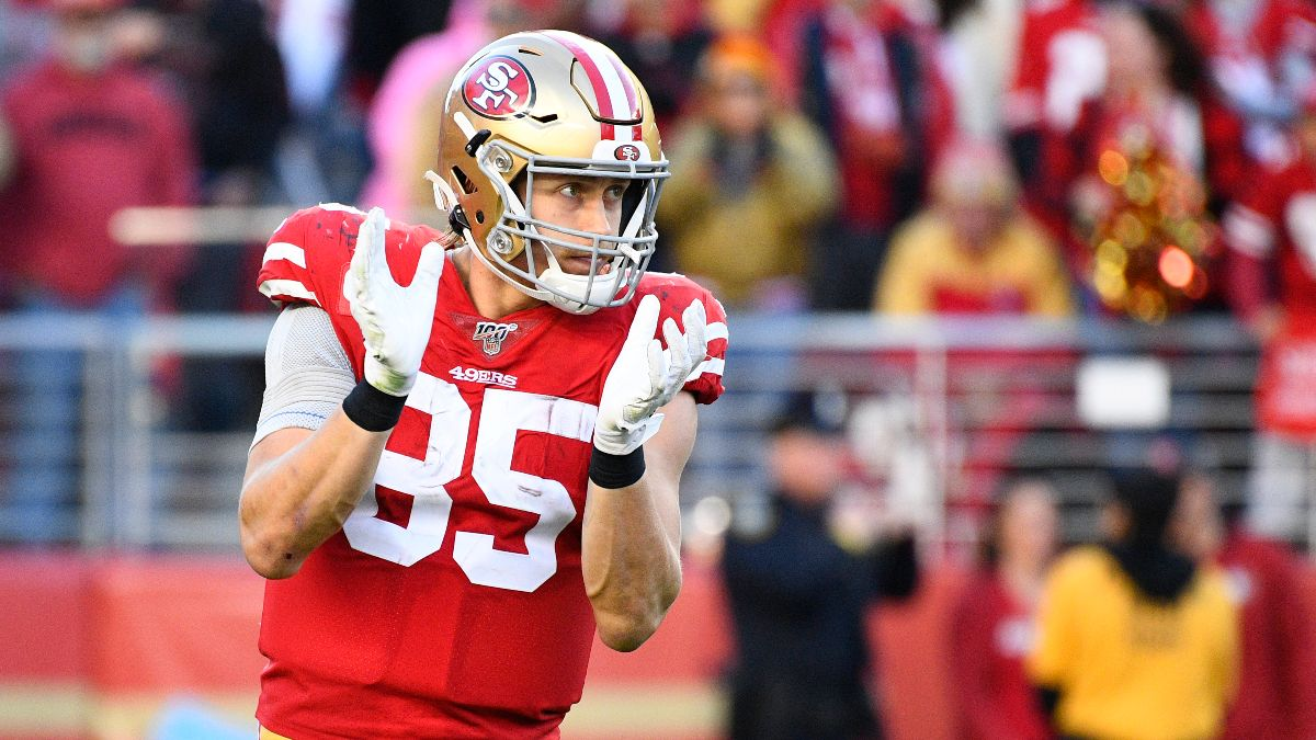 George Kittle Prop Bets, Odds & Picks for Super Bowl 54 article feature image
