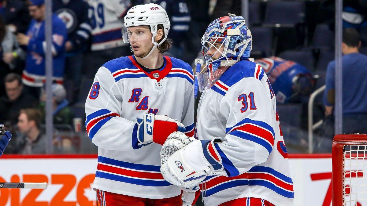 NHL Betting Picks & Odds (Friday, Feb. 21): New York Rangers vs. Carolina Hurricanes, Wild vs. Oilers, More article feature image