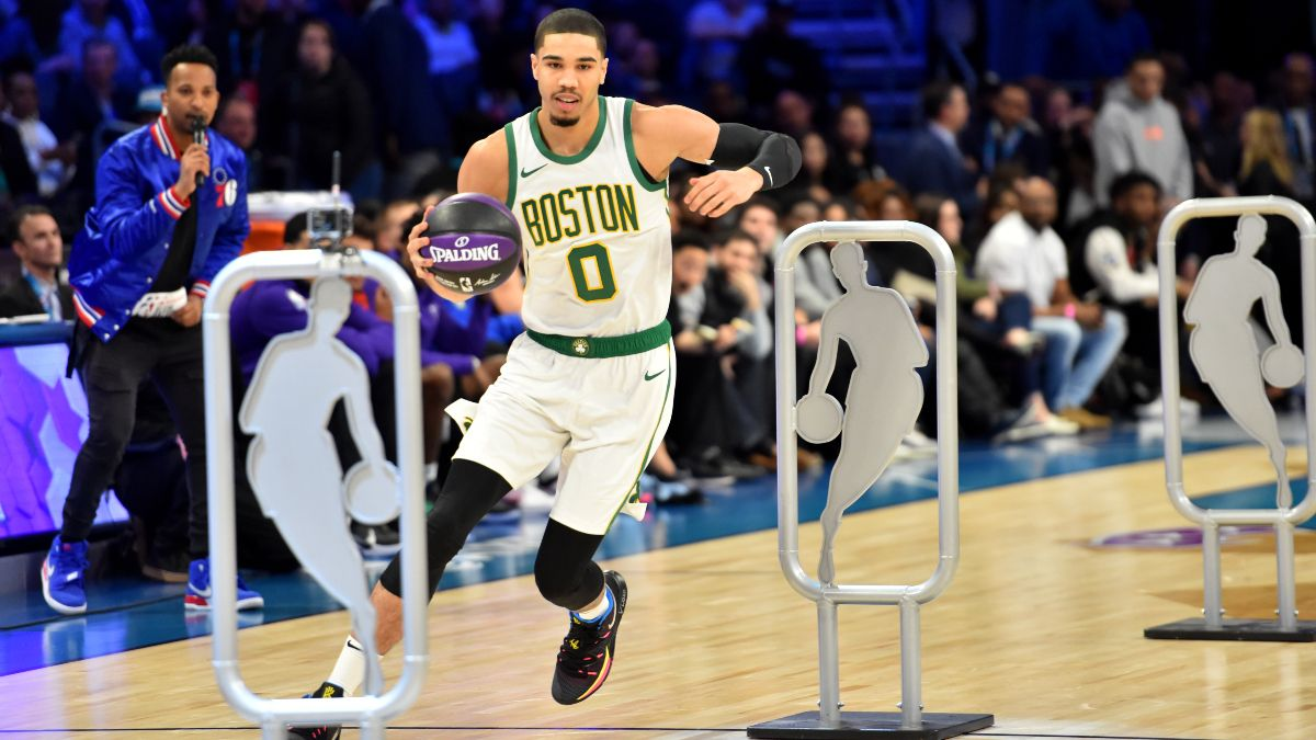 NBA Skills Challenge Betting Odds, Picks & Predictions: Will Jayson Tatum Go Back-to-Back? article feature image