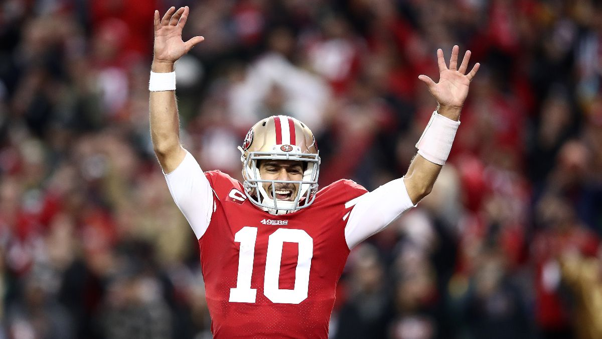 Jimmy Garoppolo Prop Bets, Odds & Picks for Super Bowl 54 article feature image
