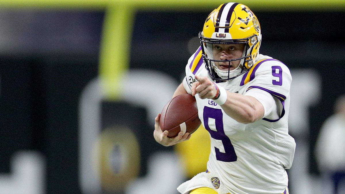 Joe Burrow NFL Draft Odds & Promotions: Get 2-1 Odds on Burrow to Go No. 1 Overall article feature image