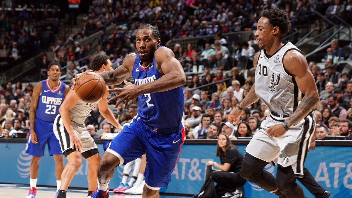 Spurs vs. Clippers Sharp Betting Pick (Feb. 3): How Pros Are Moving the Spread article feature image