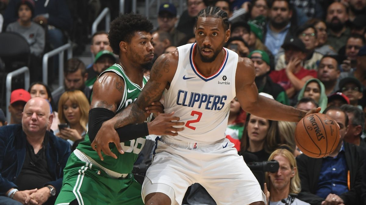 Betting Percentages, Sharp Picks for Thunder vs. Pelicans, Clippers vs. Celtics article feature image