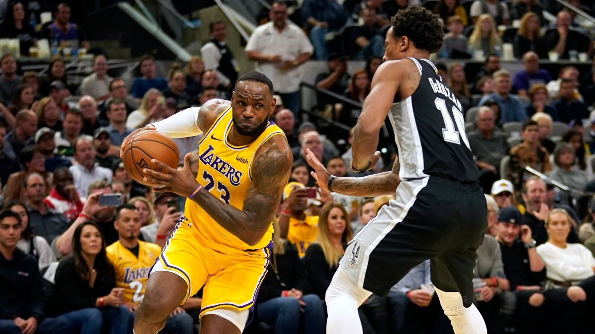 NBA Sharp Betting Picks (Feb. 4): Spurs vs. Lakers, Hornets vs. Rockets Hit by Pro Action article feature image