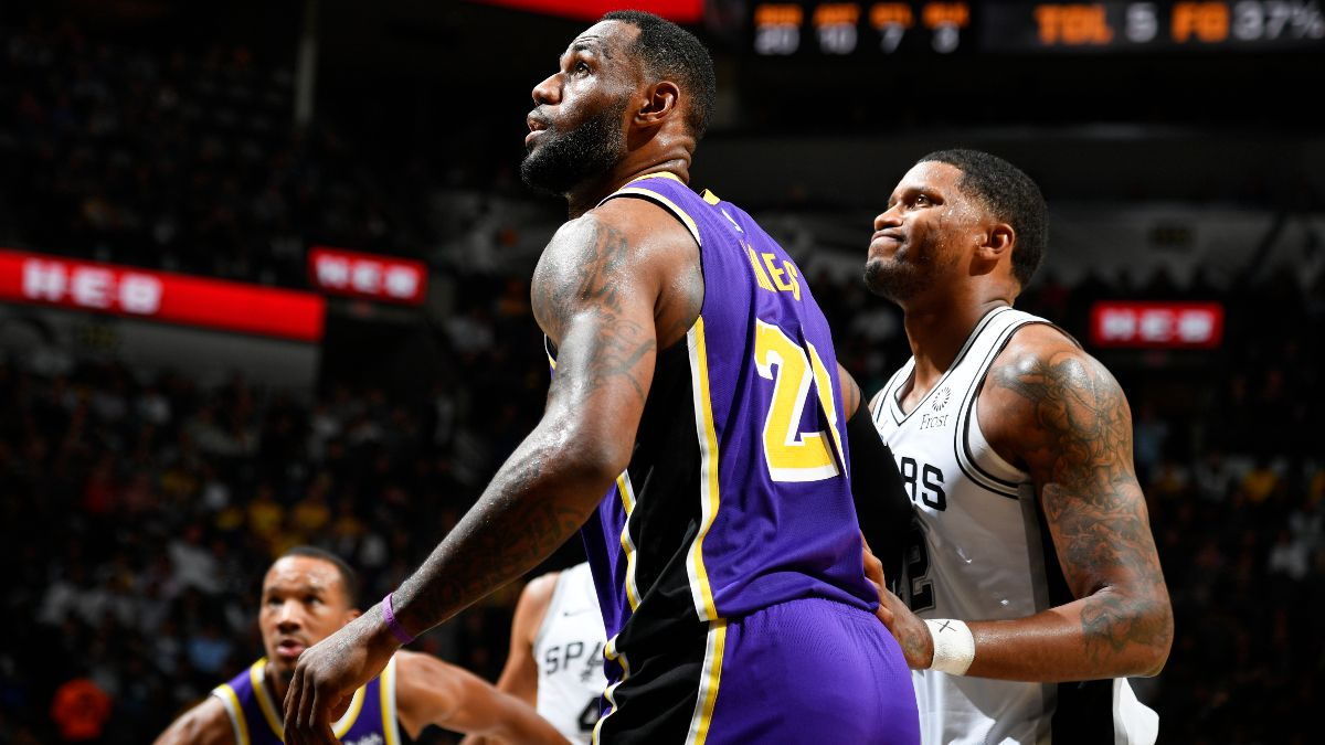 Spurs vs. Lakers Betting Picks, Betting Odds & Predictions: Will LeBron & Co. Cover Double Digits at Home? article feature image