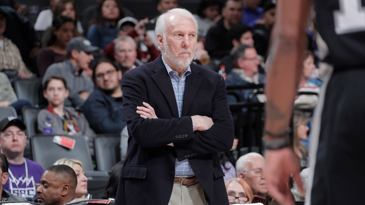 Moore's NBA Sunday Betting Guide: Odds, Picks and Analysis for Spurs-Thunder, Pistons-Blazers and More article feature image