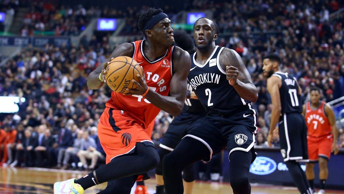 NBA Sharp Betting Picks (Feb. 8): Mavericks vs. Hornets, Nets vs. Raptors Drawing Pro Action Saturday article feature image